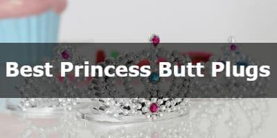 Best jeweled princess butt plugs button