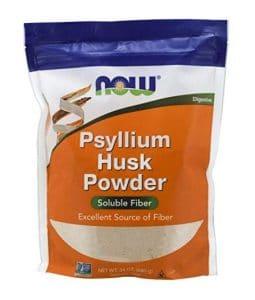 NOW bulk psyllium husk fiber
