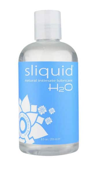 Sliquid water-based anal lubricant