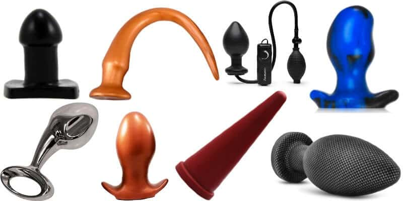 A collection of the best large, thick, and long butt plugs
