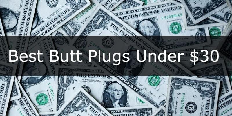 Best Budget butt plugs banner button