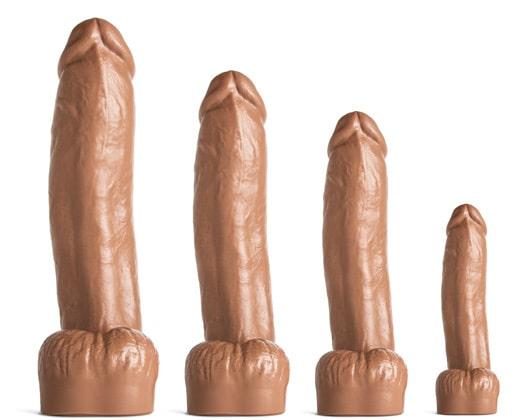 Mr Hankeys large realistic dildos: Cody Cachet 4 sizes