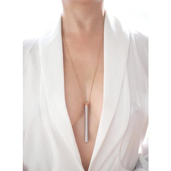 Crave Vesper discreet wearable necklace bullet vibe