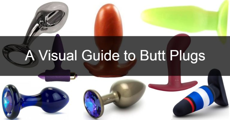 A collection of butt plugs with different features and shapes