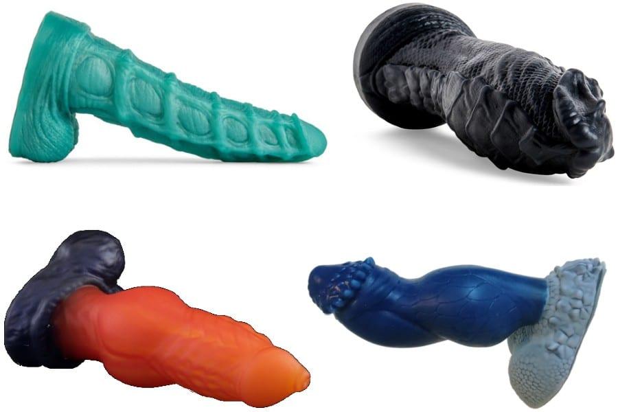 Examples of fantasy dildos